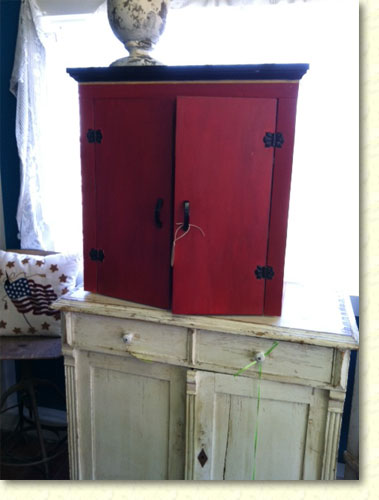 Repurposed cabinet