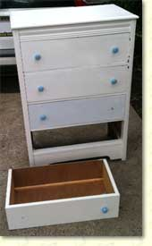 Vintage Stamp Chest (before)